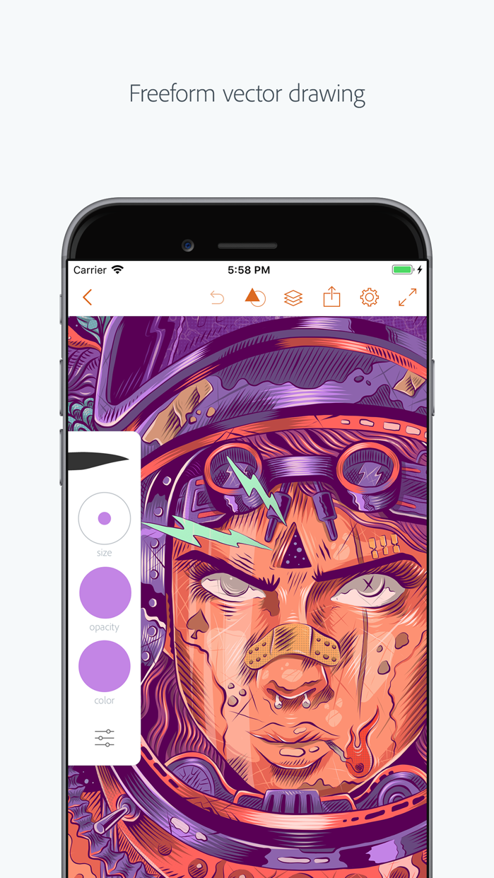 Adobe Illustrator Draw Screenshot
