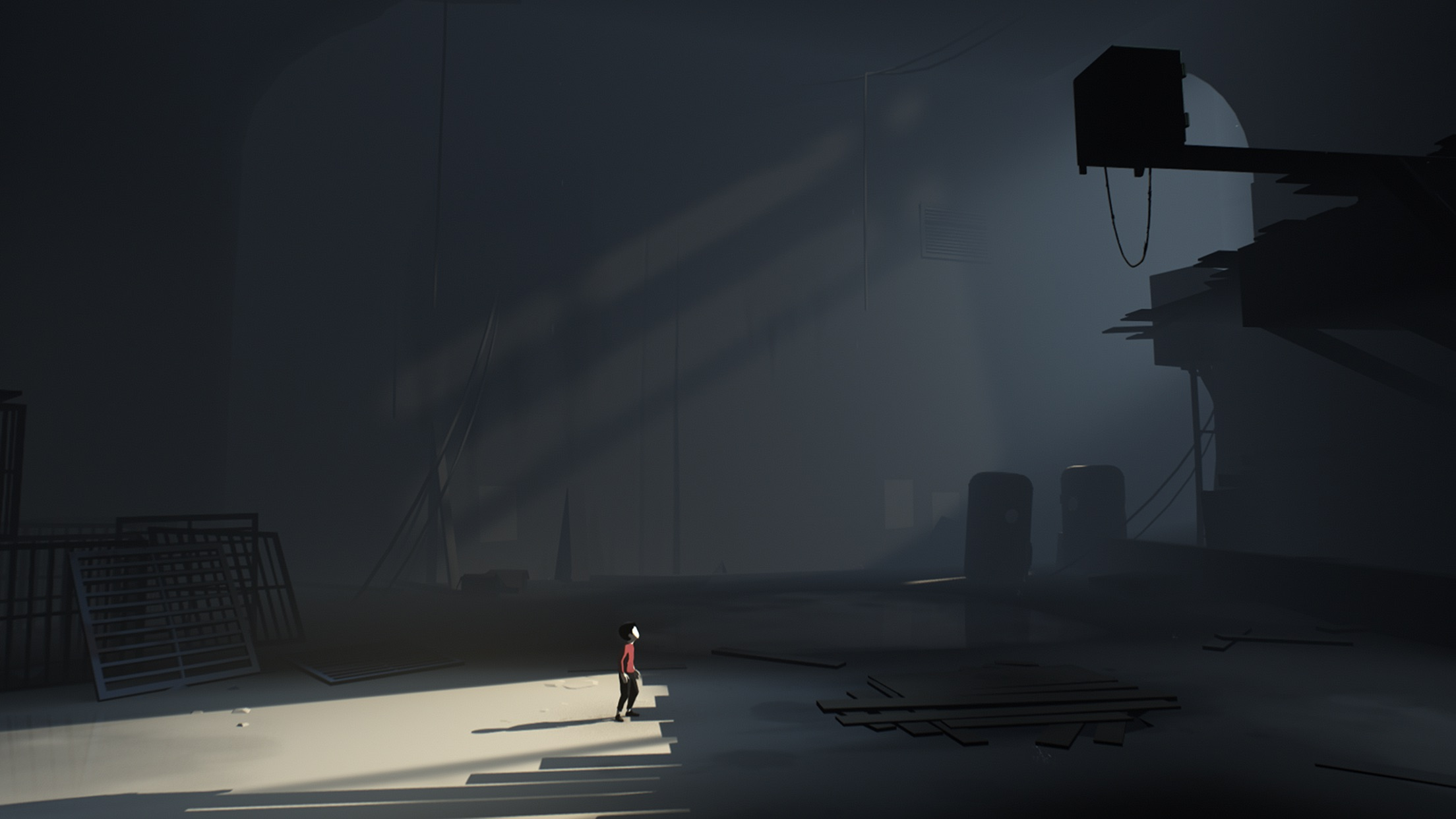 Screenshot do app Playdead's INSIDE
