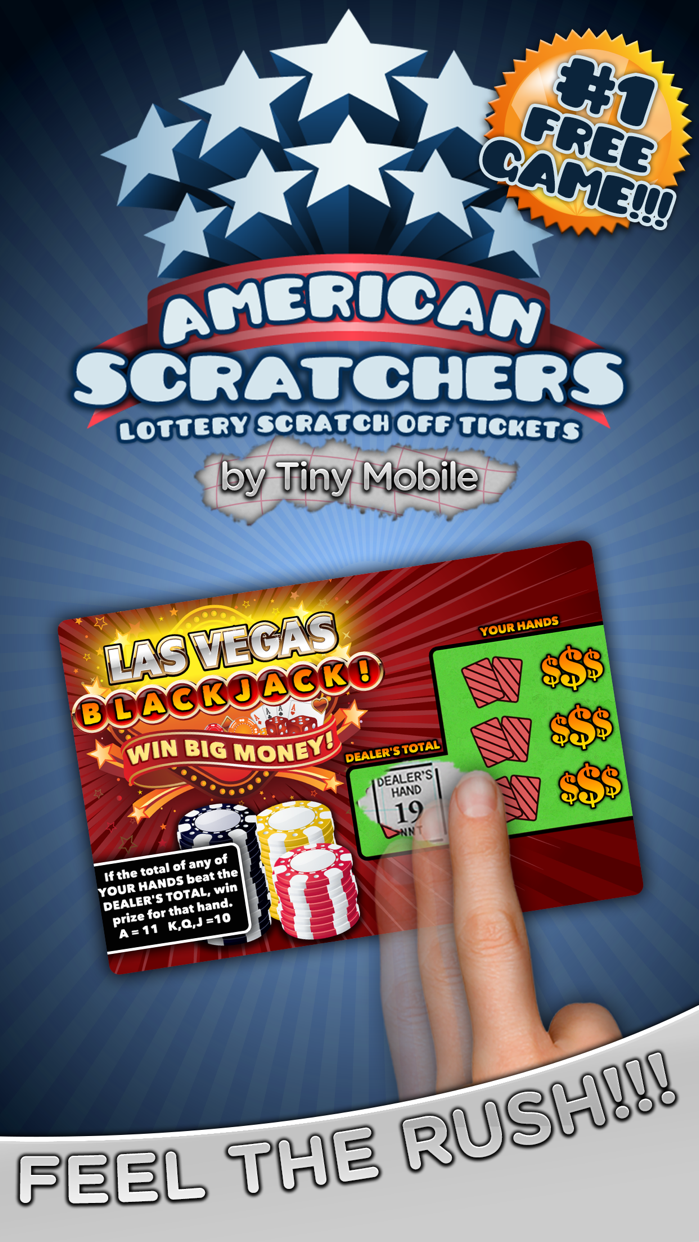 American Scratchers Lottery Screenshot