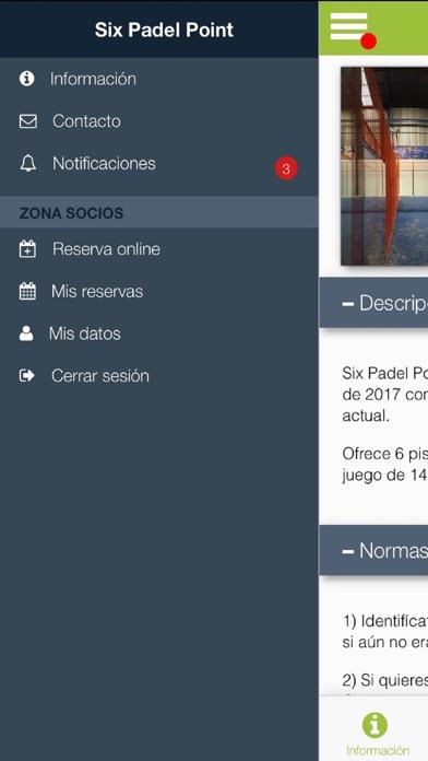 Six Padel Point Padel6 screenshot 2