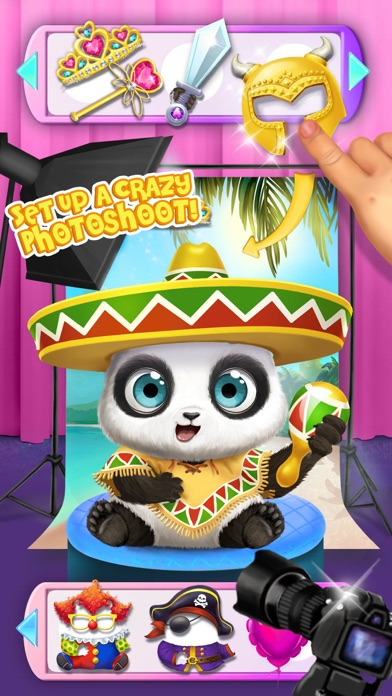 Panda Lu Baby Bear City No Ads screenshot 2