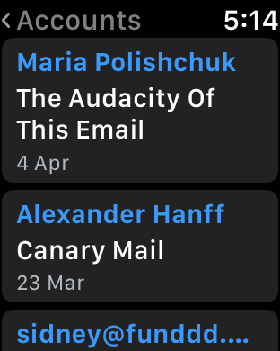 Screenshot #7 for Canary Mail - Secure Email App