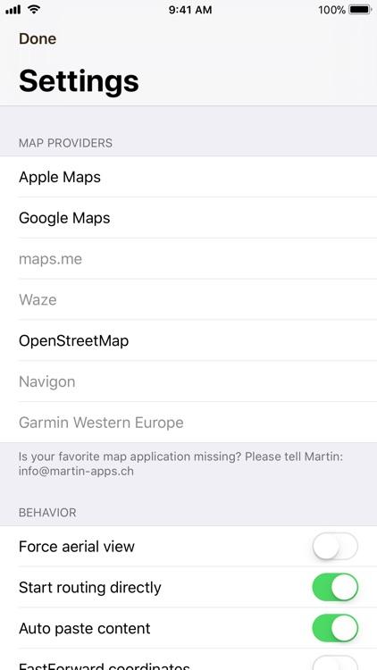 SwissGrid coordinates screenshot-3