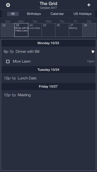 Screenshot #4 for The Grid - Calendar