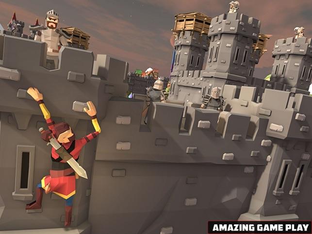 Blocky Shadow Ninja Kungfu War, game for IOS