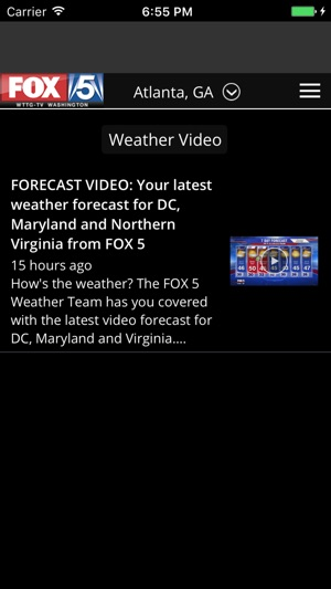 FOX 5 Weather on the App Store
