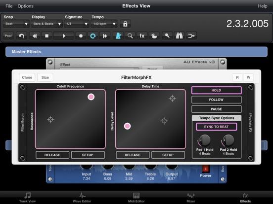 FilterMorph AUv3 Audio Plugin screenshot 12