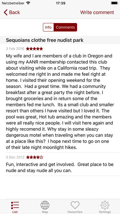 Iswimnude review screenshots