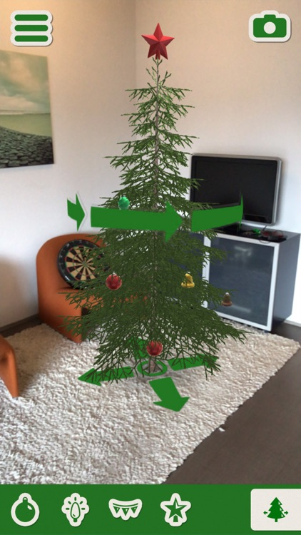 Christmas Tree Decorator AR screenshot-3