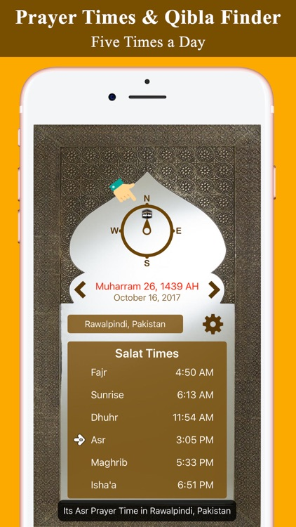 Prayer Times and Qibla PRO
