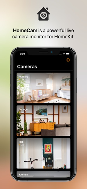 HomeCam for HomeKit Screenshot