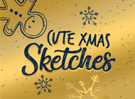 XMAS Sketches Doodle Style