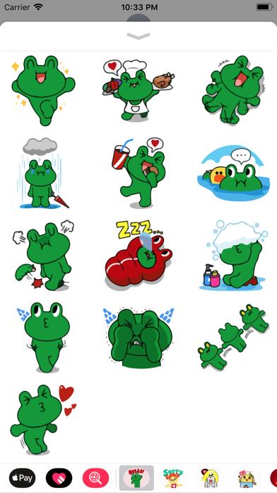 Grino is Witty Sticker Pack IM screenshot four