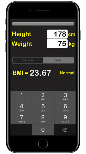 BMI Calculator‰ on the App Store