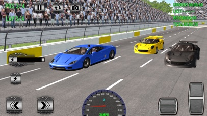 Superheroes Car Racing Sim Pro Screenshot 4