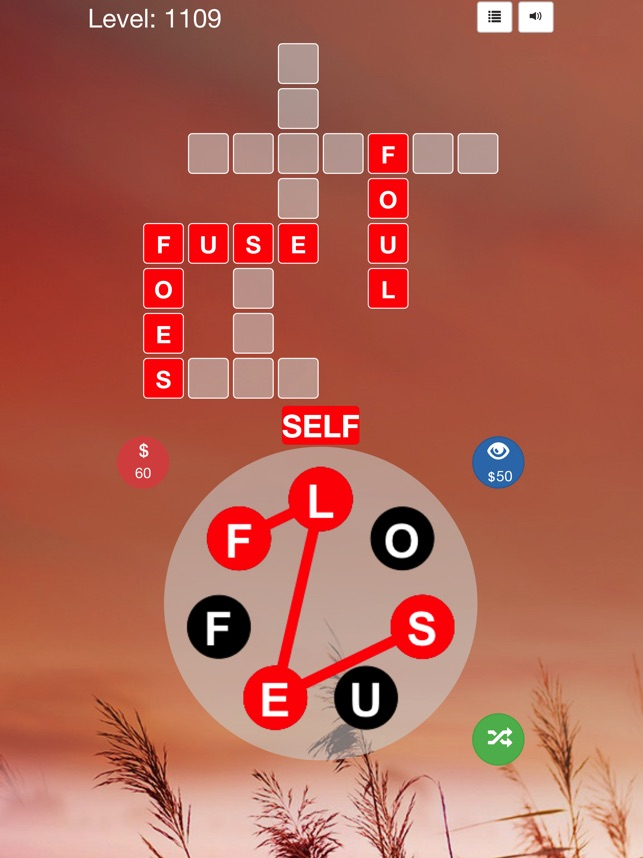 Crossword Puzzles Game on the App