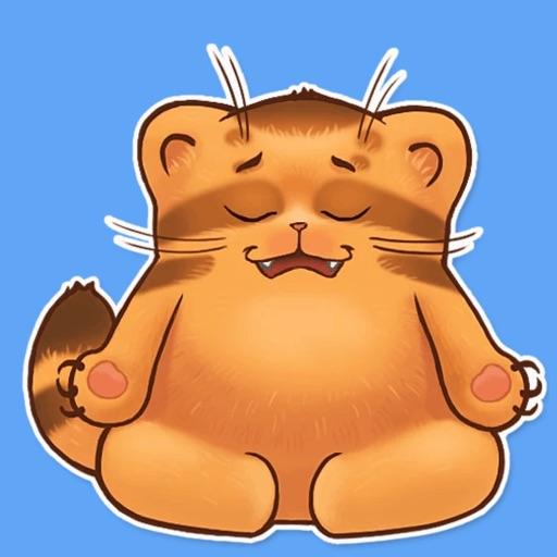 Cat Monya STiK Sticker Pack