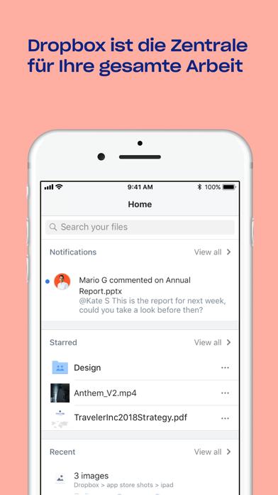dropbox app dateien herunterladen