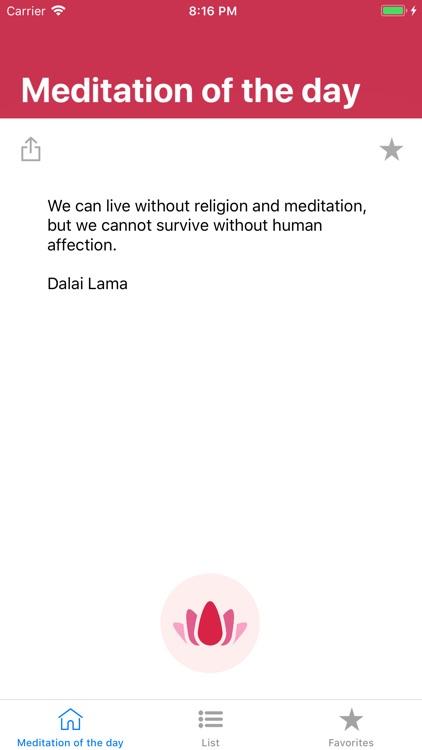 Meditation of the day screenshot-3