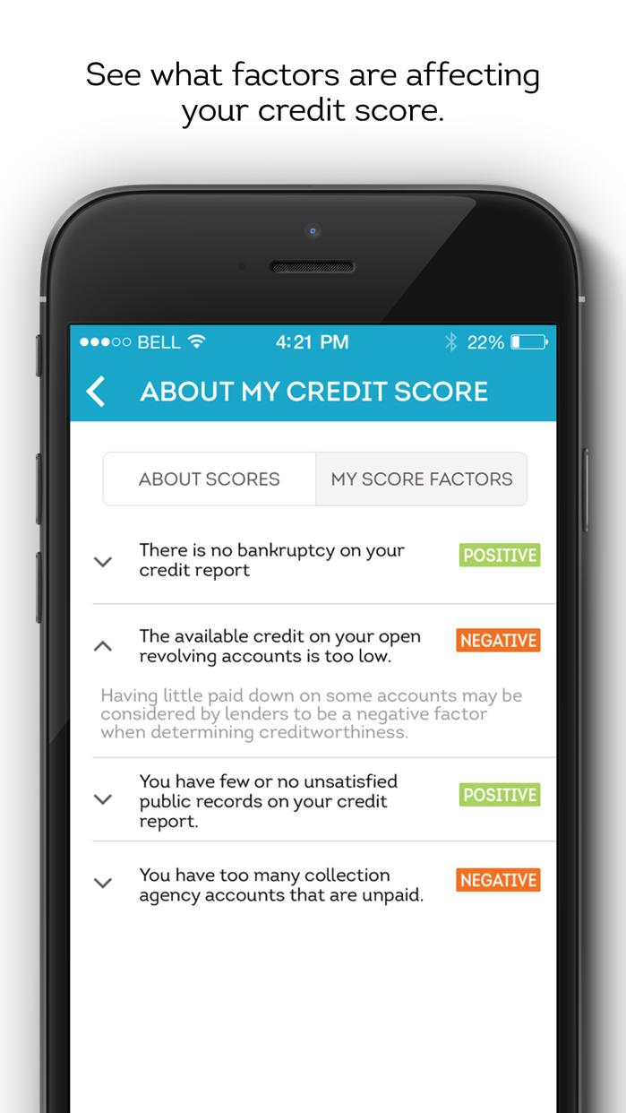 TransUnion Mobile Screenshot