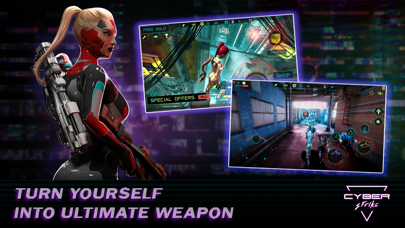 Cyber Strike - Infinite Runner screenshot four