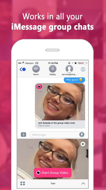 Fam — Group video calling for iMessage