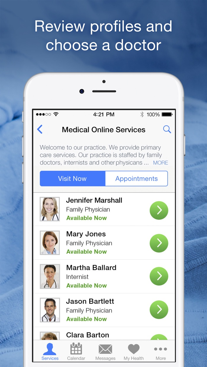 Amwell: Doctor Visits 24/7 Screenshot