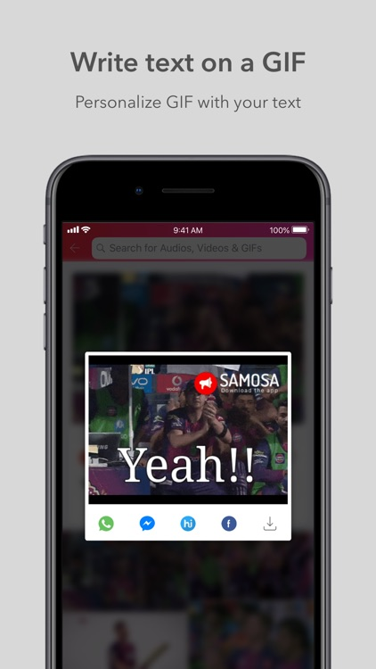 Samosa: Videos, GIFs & Audios screenshot-4