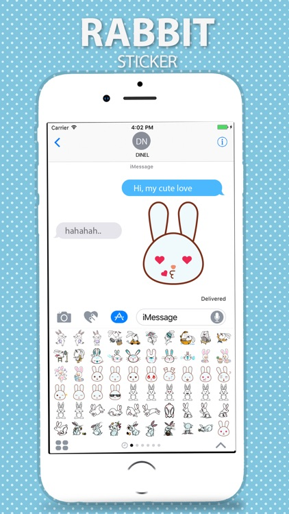 Rabbit Stickers Pack screenshot-4