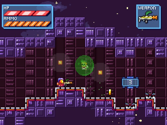 Deep Space | Space-Platformer screenshot 7
