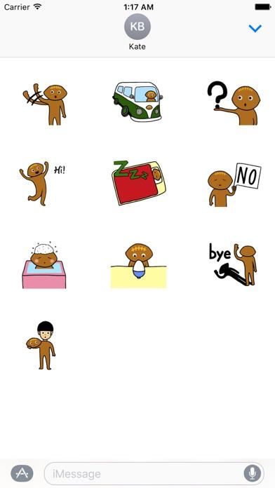 Rugby Ball Emoji Sticker screenshot 3
