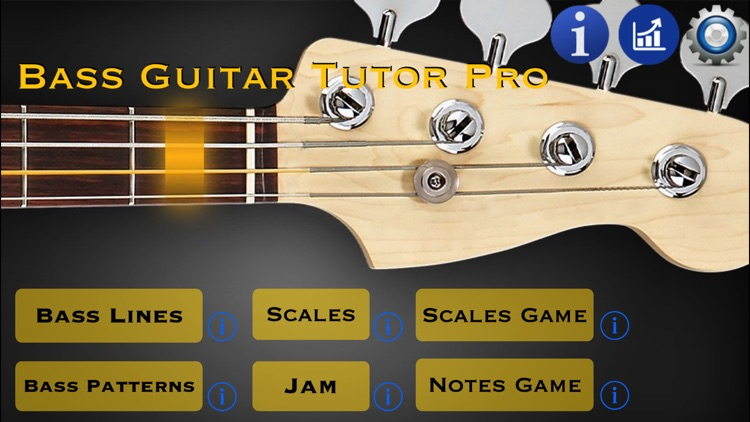 Bass Guitar Tutor Pro screenshot-1