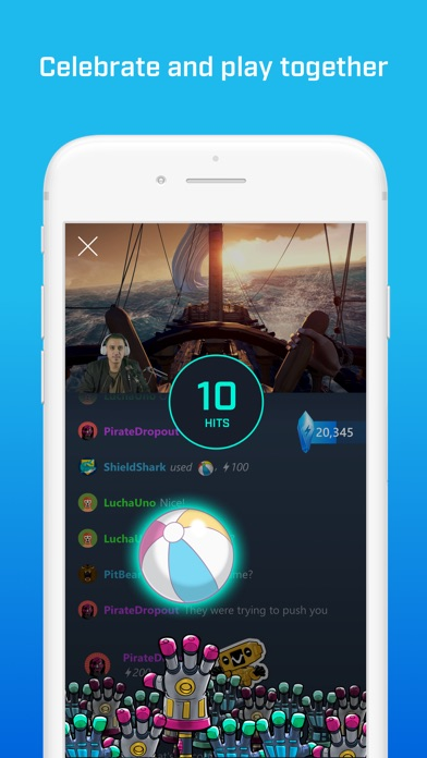 Mixer - Interactive Streaming app image