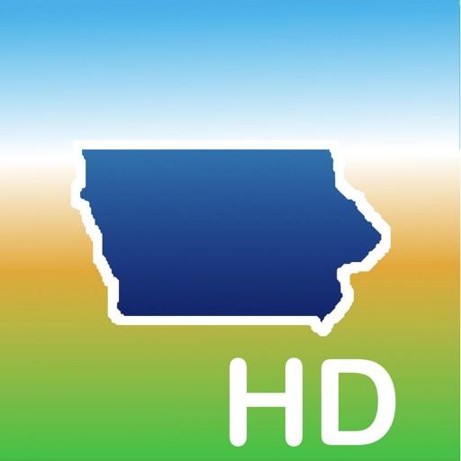 Aqua Map Iowa Lakes GPS HD