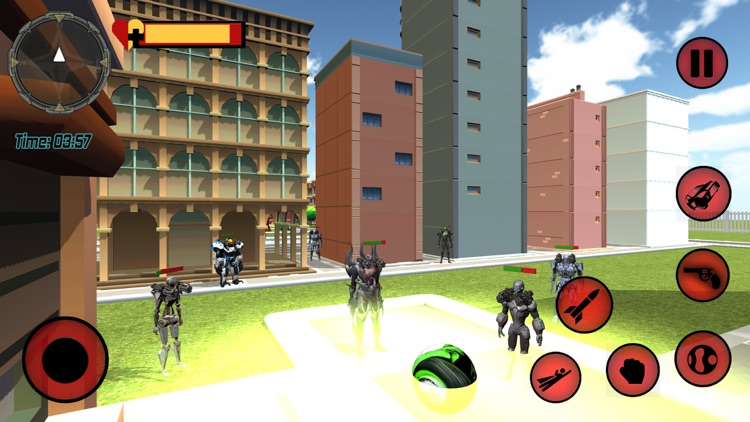 Multi Transformable Robot Hero screenshot-4