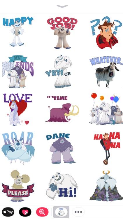 Smallfoot Emoji Stickers