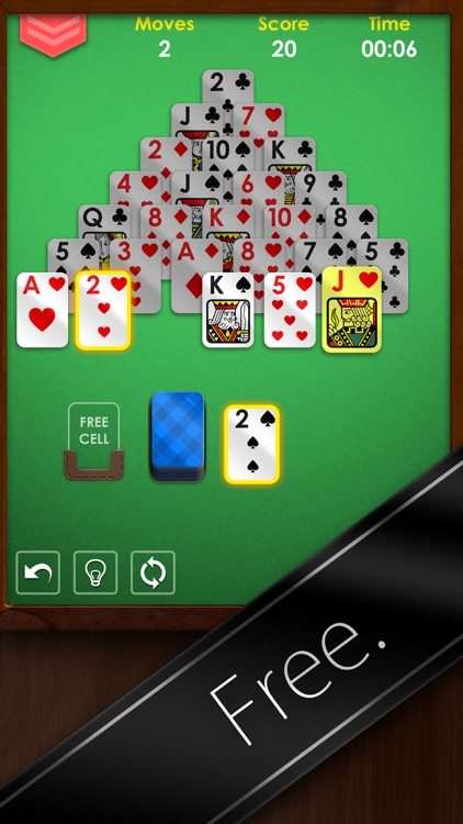Pyramid Solitaire Premium Free screenshot-4