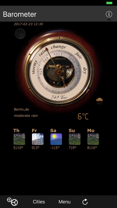 Barometer antique