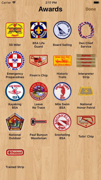 Scouts & Merits - Merit Badges screenshot-3