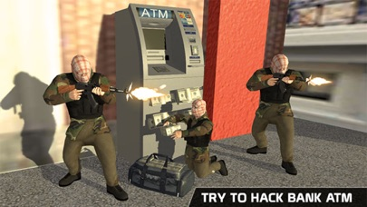 ATM Bank Robbery; Police Squad-3