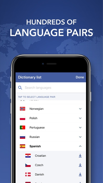 Collins World Dictionary screenshot four