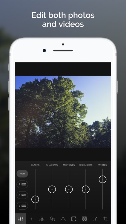Ultralight - Photo Editor screenshot-0