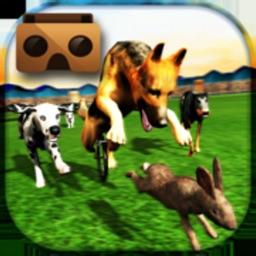 VR Racing Dogs Bunny Hunter