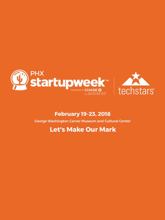 TechStars Startup Week PHX2018 screenshot 3