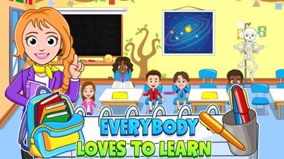 My Town : School app image