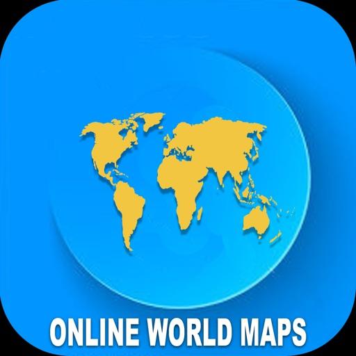 Online World Maps