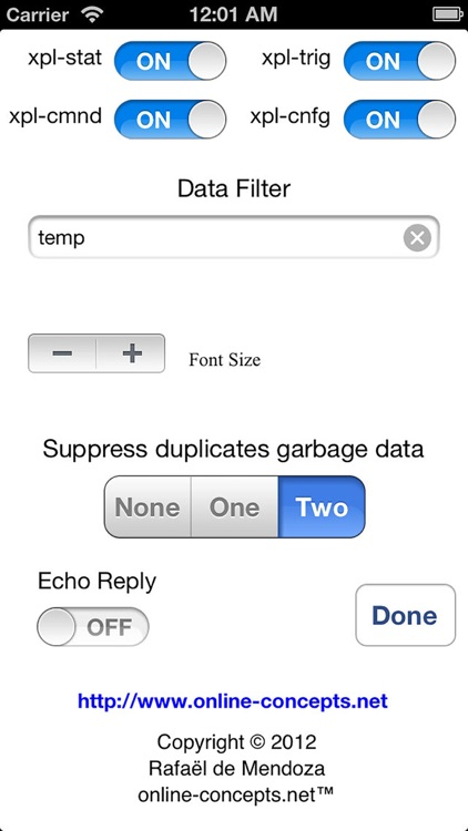 xPL Sniffer screenshot-4