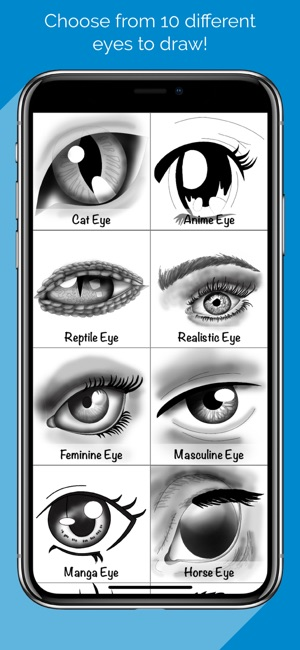 How To Draw Eyes with Steps on the App Store