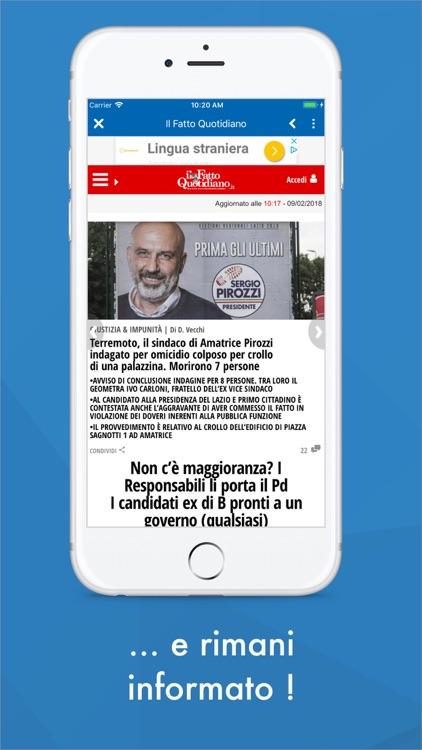 Italy News - Quotidiani Calcio screenshot-3