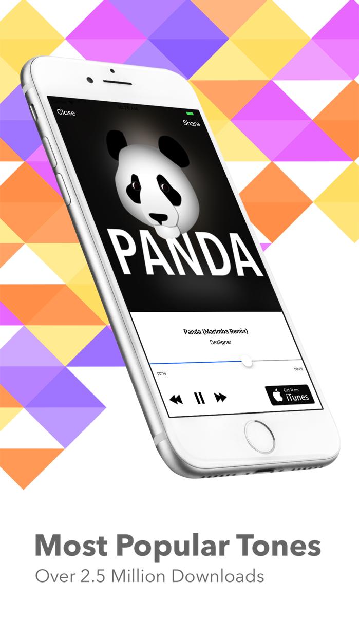 Marimba Ringtone Remixes Screenshot
